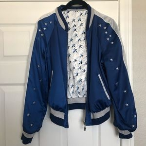 Reversible Bebe Bomber Jacket